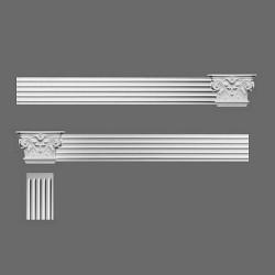 Głowica narożna pilastra K201LR, lewa i prawa