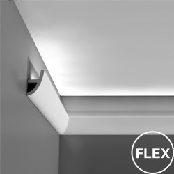 Orac Decor C373 Flex gięta listwa sufitowa oświetleniowa