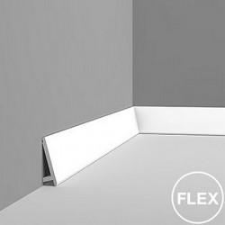 Orac Decor SX179 Flex gięta listwa przypodłogowa